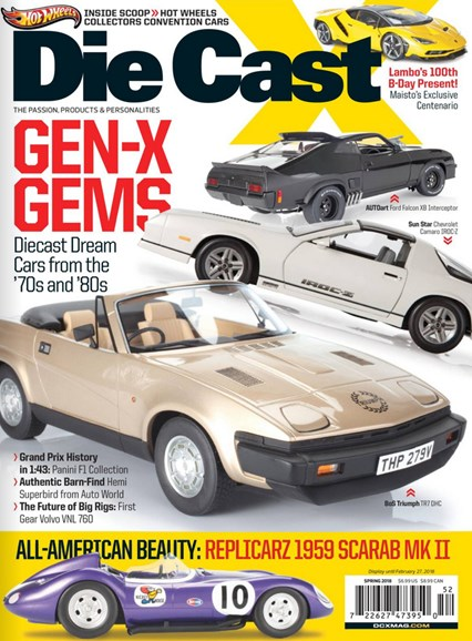 Diecast X Cover - 3/1/2018
