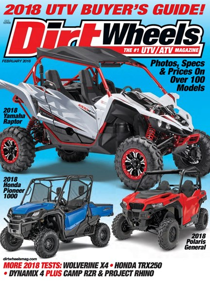 Dirt Wheels Cover - 2/1/2018