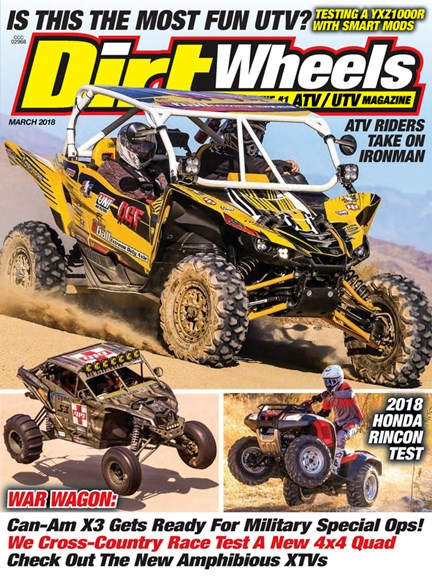 Dirt Wheels Cover - 3/1/2018