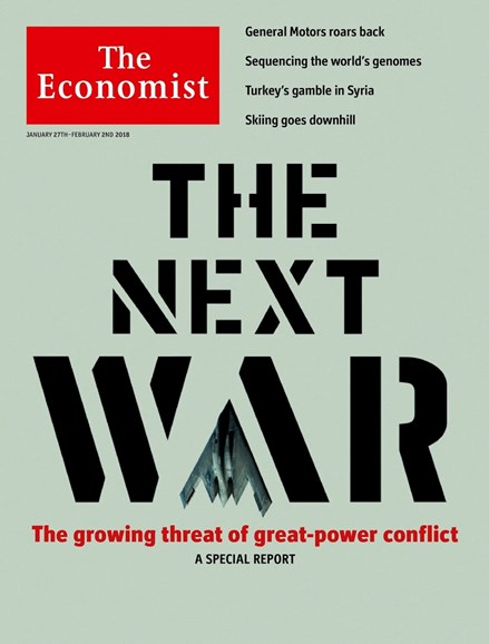 The Economist Cover - 1/27/2018