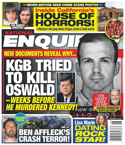National Enquirer Cover - 2/5/2018