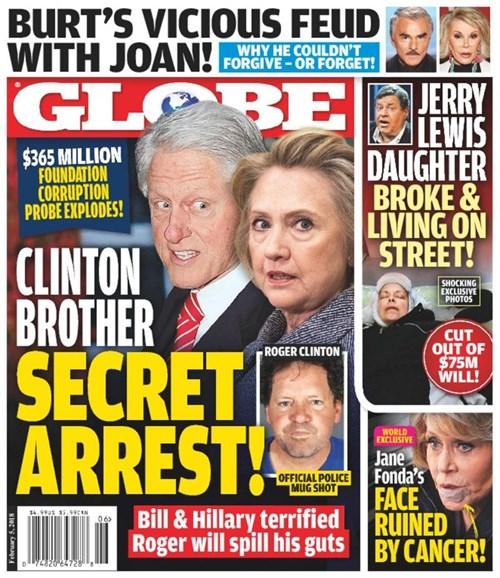 Globe Cover - 2/5/2018