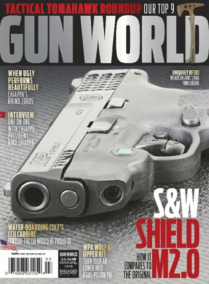Gun World Cover - 3/1/2018