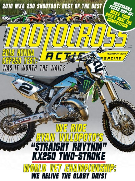 Motocross Action Cover - 2/1/2018