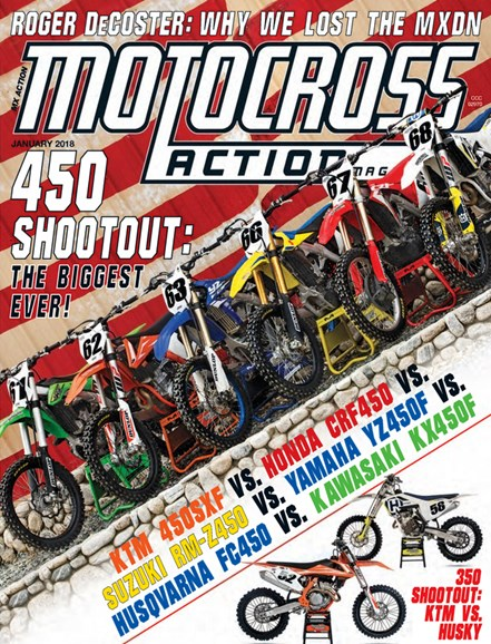 Motocross Action Cover - 1/1/2018