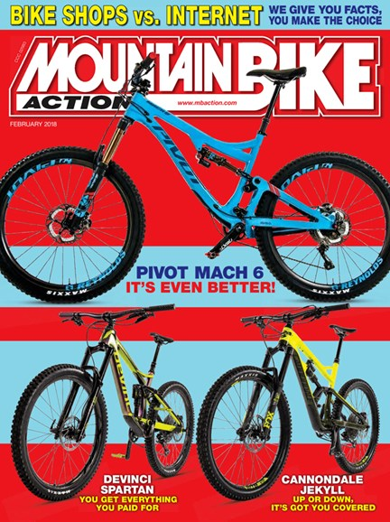 Mountain Bike Action Cover - 2/1/2018