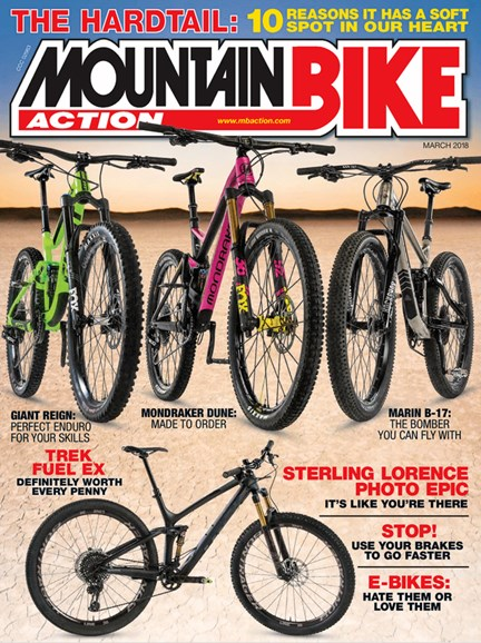 Mountain Bike Action Cover - 3/1/2018