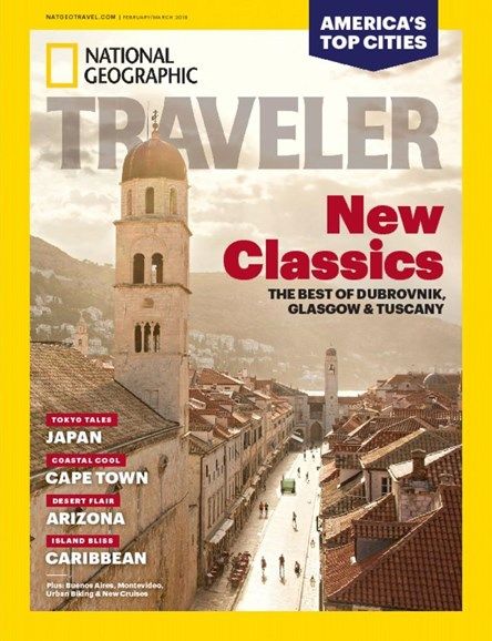 National Geographic Traveler Cover - 2/1/2018