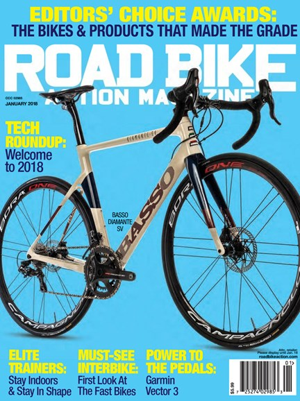 Road Bike Action Cover - 1/1/2018