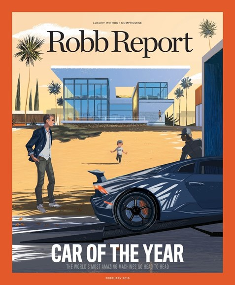Robb Report Cover - 2/1/2018