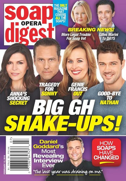 Soap Opera Digest Cover - 2/12/2018
