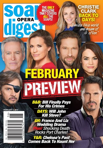 Soap Opera Digest Cover - 2/5/2018