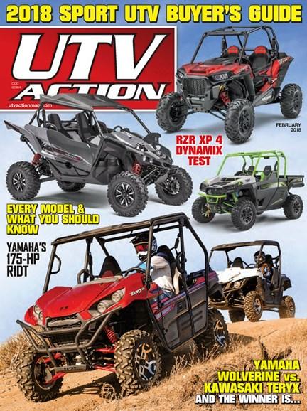UTV Action Cover - 2/1/2018