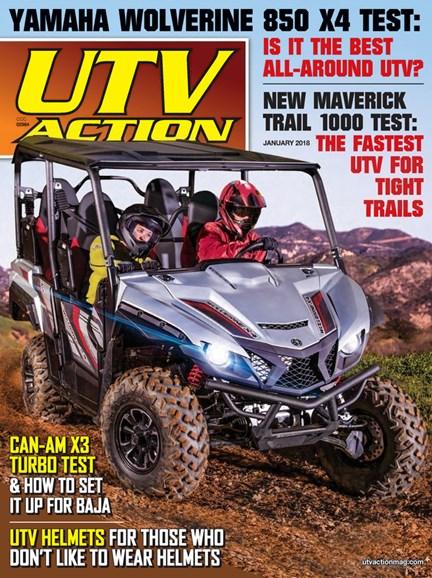 UTV Action Cover - 1/1/2018