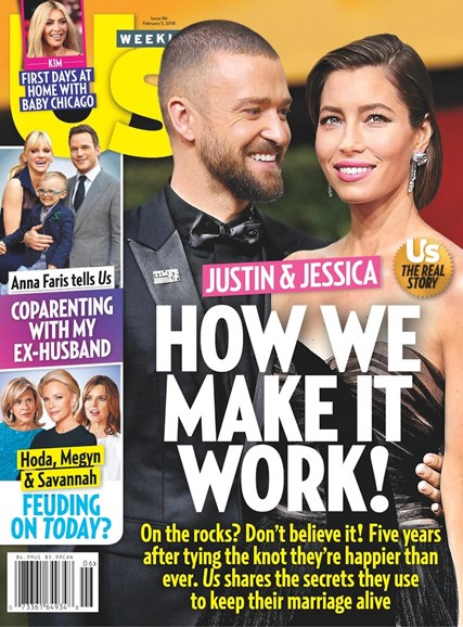 Us Weekly Cover - 2/5/2018