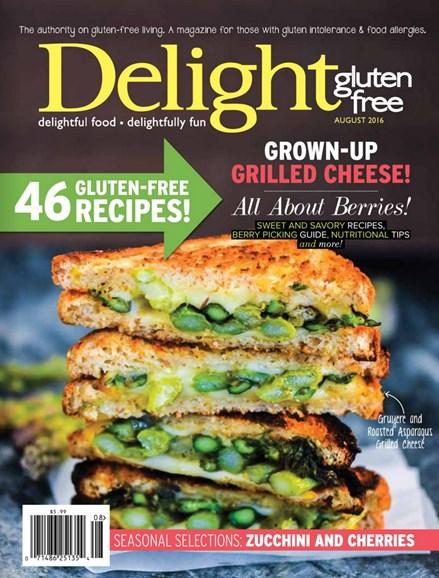 Delight Gluten Free Cover - 7/1/2016
