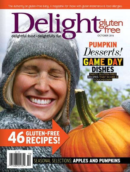 Delight Gluten Free Cover - 9/1/2016