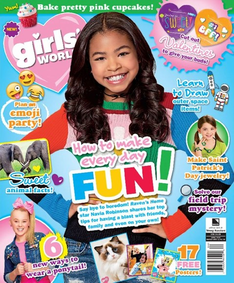 Girls' World Cover - 4/1/2018