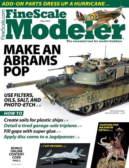 Finescale Modeler Cover - 3/1/2018