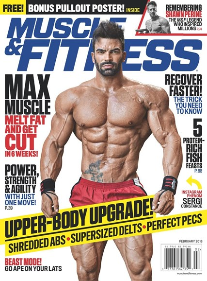 Muscle & Fitness Cover - 2/1/2018