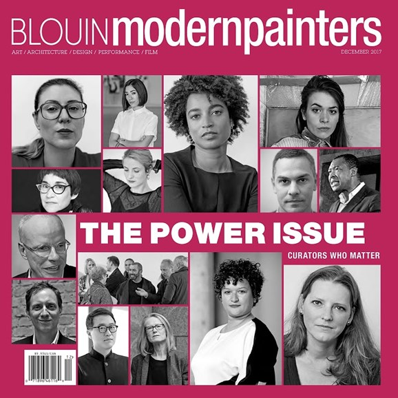 Blouin Modern Painters Cover - 12/1/2017