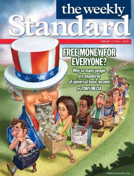 Washington Examiner Cover - 2/12/2018
