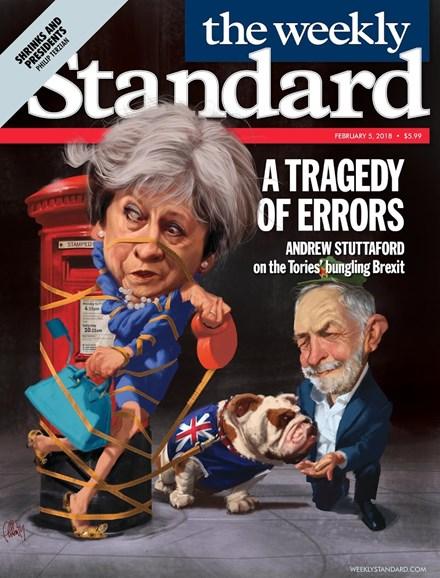 Washington Examiner Cover - 2/5/2018