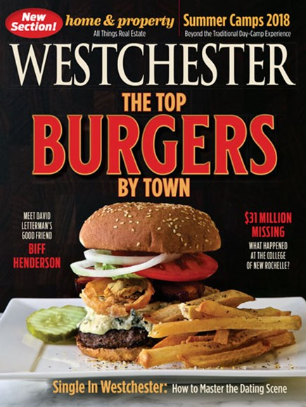 Westchester Magazine Cover - 2/1/2018
