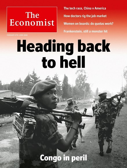 The Economist Cover - 2/17/2018