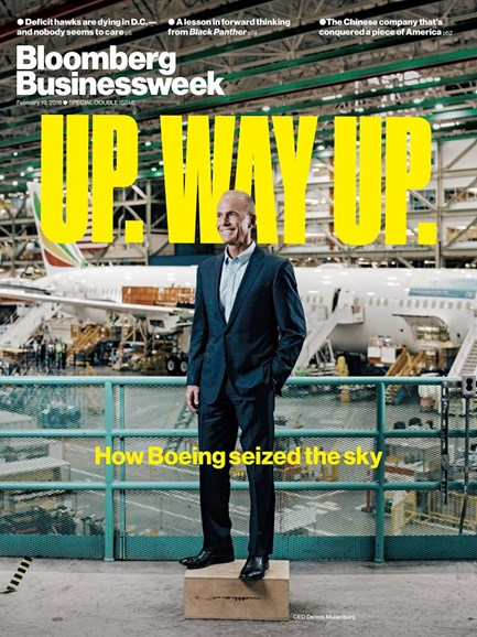 Bloomberg Businessweek Cover - 2/19/2018