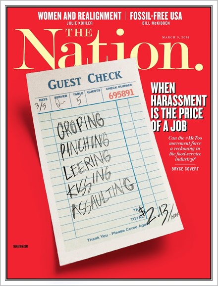 The Nation Cover - 3/5/2018