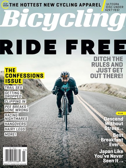 Bicycling Cover - 3/1/2018
