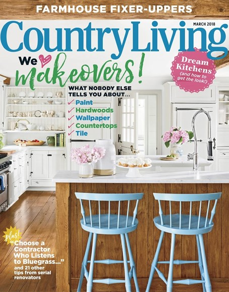 Country Living Cover - 3/1/2018