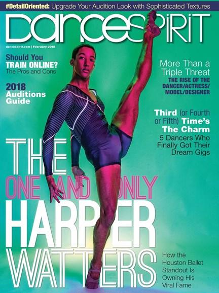 Dance Spirit Cover - 2/1/2018