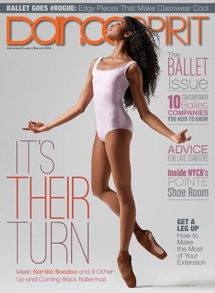 Dance Spirit Cover - 3/1/2018