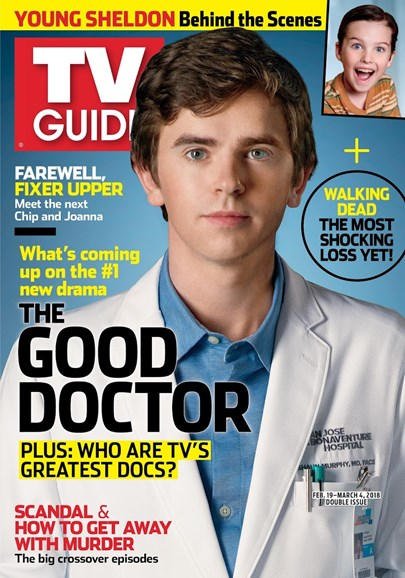 TV Guide Cover - 2/19/2018