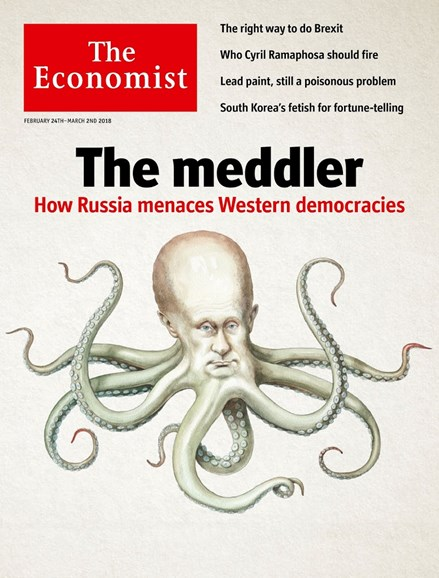 The Economist Cover - 2/24/2018