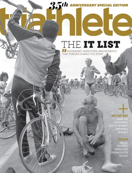 Triathlete Cover - 1/1/2018
