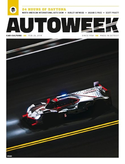 Autoweek Cover - 2/26/2018