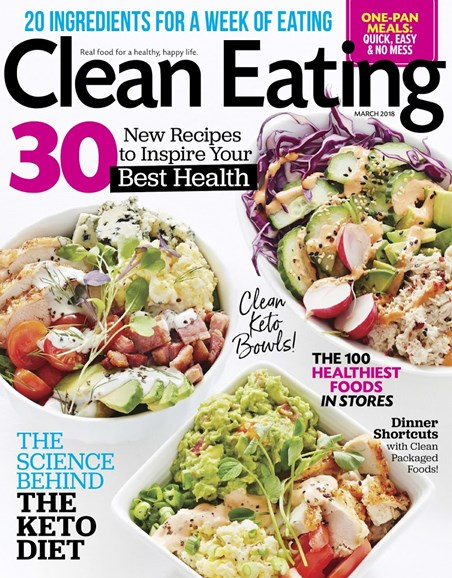 Clean Eating Cover - 3/1/2018