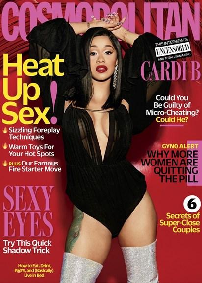 Cosmopolitan Cover - 4/1/2018