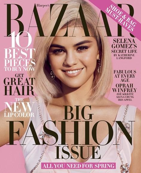 Harper's Bazaar Cover - 3/1/2018