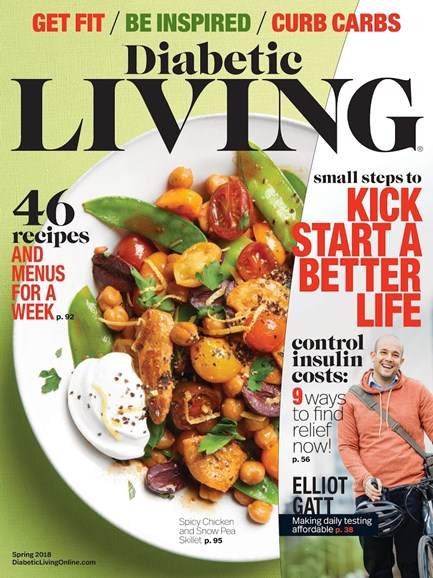 Diabetic Living Cover - 3/1/2018
