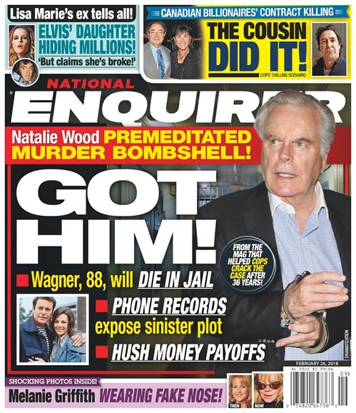 National Enquirer Cover - 2/26/2018
