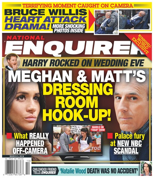 National Enquirer Cover - 3/5/2018