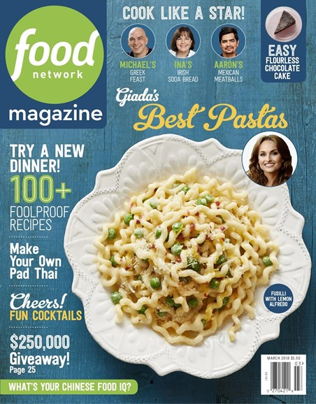 Food Network Cover - 3/1/2018