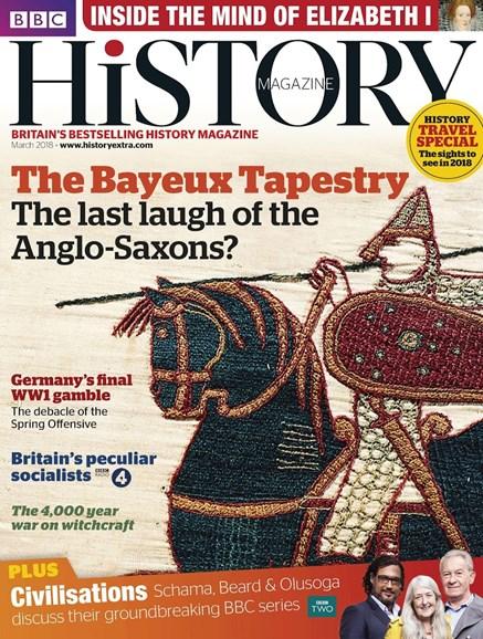 BBC History Cover - 3/1/2018