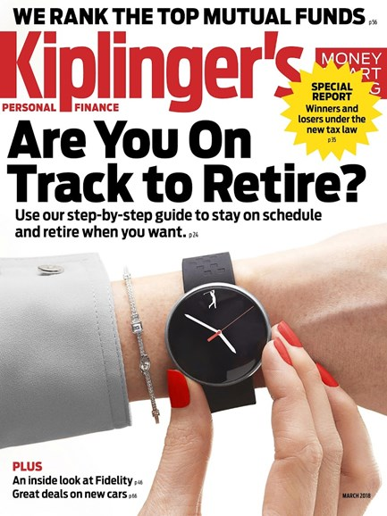 Kiplinger's Personal Finance Cover - 3/1/2018