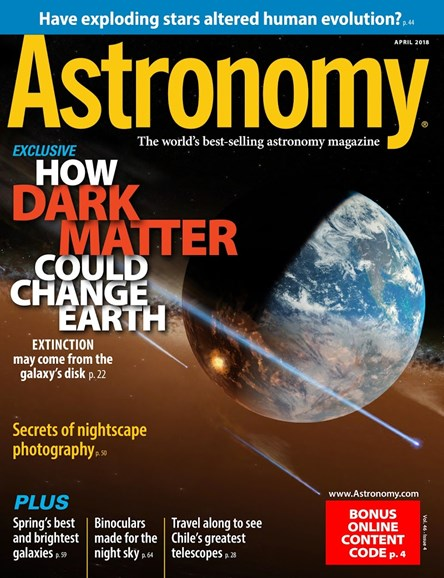 Astronomy Cover - 4/1/2018