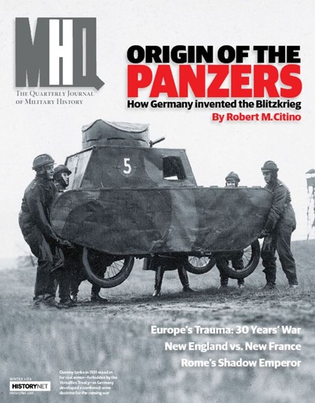 MHQ: Military History Quarterly Cover - 12/1/2015